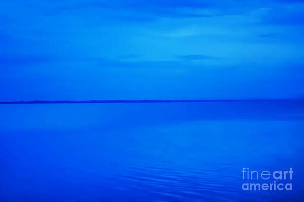 Wall Art - Photograph - Blue Ocean Twilight by Randy Steele