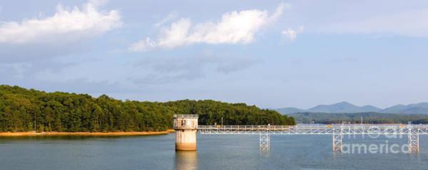 Photograph - Blue Ridge Dam by Michael Waters