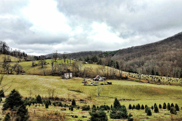 Photograph - Blue Ridge Homestead by Grace Dillon
