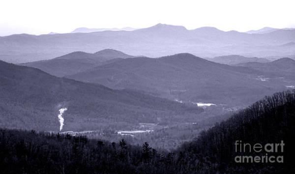 Photograph - Blue Ridge Impression by Olivier Le Queinec