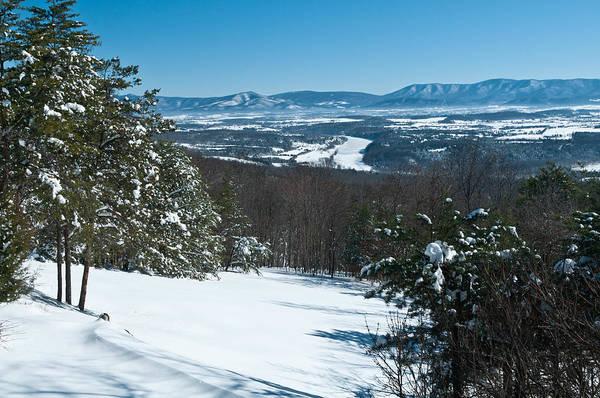 Photograph - Blue Ridge In Winter by Lara Ellis
