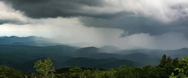 Photograph - Blue Ridge Mountain Rain 2 by David Hart
