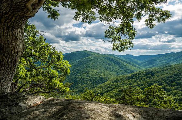 Wall Art - Photograph - Blue Ridge Mountain View by Lori Coleman