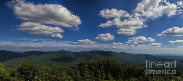 Photograph - Blue Ridge Mountains by Barbara Bowen