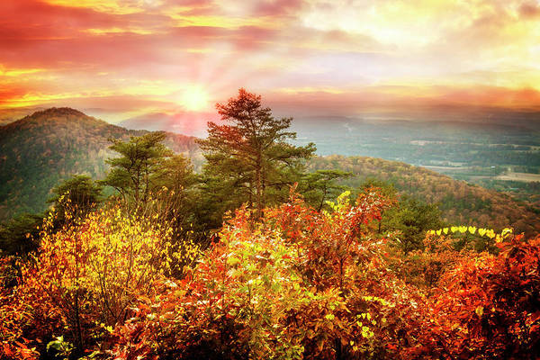 Ocoee Wall Art - Photograph - Blue Ridge Mountains In Autumn by Debra and Dave Vanderlaan