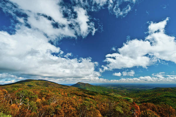 Photograph - Blue Ridge Mountains In The Fall 2 by Lara Ellis