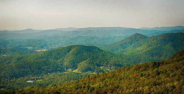 Photograph - Blue Ridge Mountains by Mick Burkey