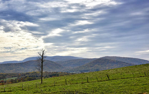 Wall Art - Photograph - Blue Ridge Mountains - Virginia by Brendan Reals