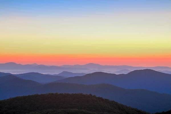 Photograph - Blue Ridge Mountains Vista by Carol Montoya