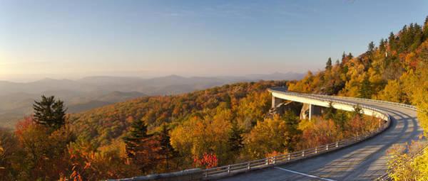 Canon 7d Photograph - Blue Ridge Parkway Linn Cove Viaduct Fall Colors by Dustin K Ryan