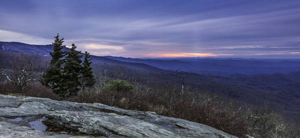 Photograph - Blue Ridge Parkway Sunrise by Ken Barrett