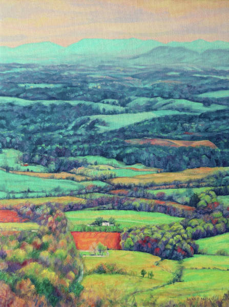 Wall Art - Painting - Blue Ridge Spring by Bonnie Mason