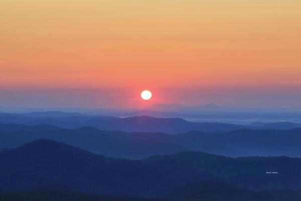 Blue Ridge Sunrise Art Print