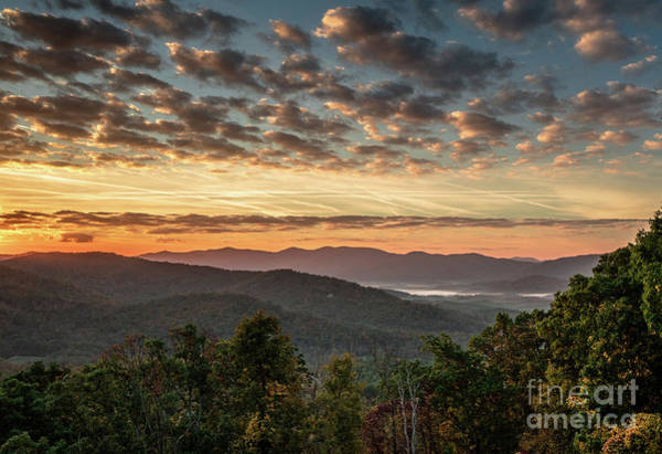 New Beginnings Photograph - Blue Ridge Dawn by DiFigiano Photography
