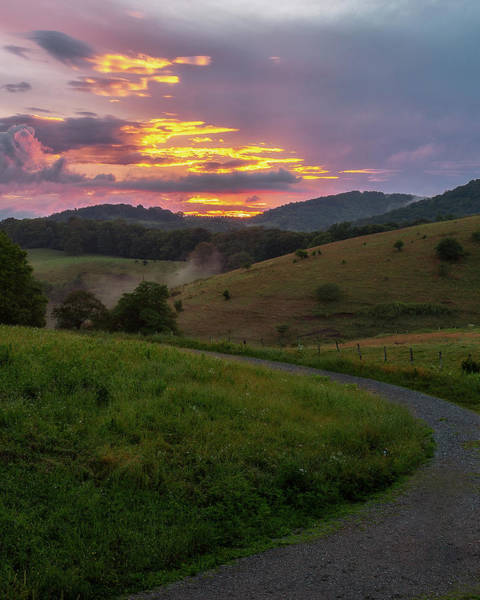 Photograph - Blue Ridge Sunset by Mike Koenig