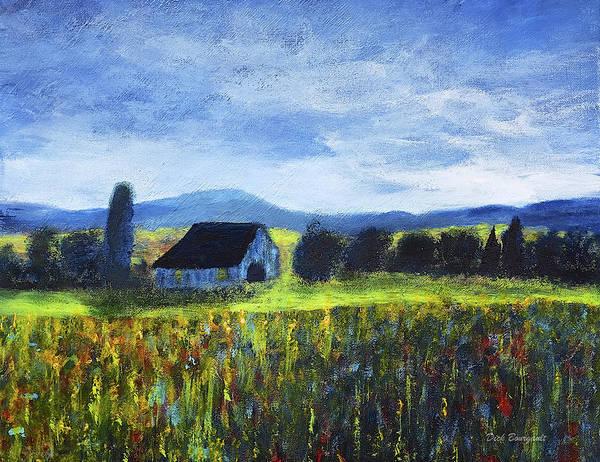 Blue Ridge Valley Art Print