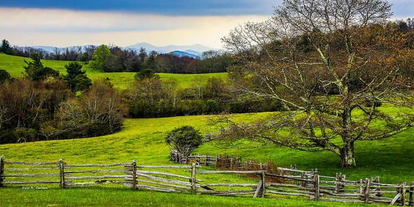 Photograph - Blue Ridge Vista by Dale R Carlson