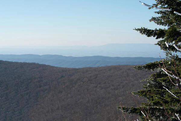 Photograph - Blue Ridges And Valleys by Paul Rebmann