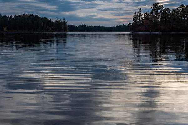 Photograph - Blue Ripples Lake Horicon New Jersey by Terry DeLuco