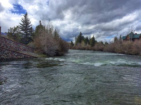 Photograph - Blue River by Dan Miller