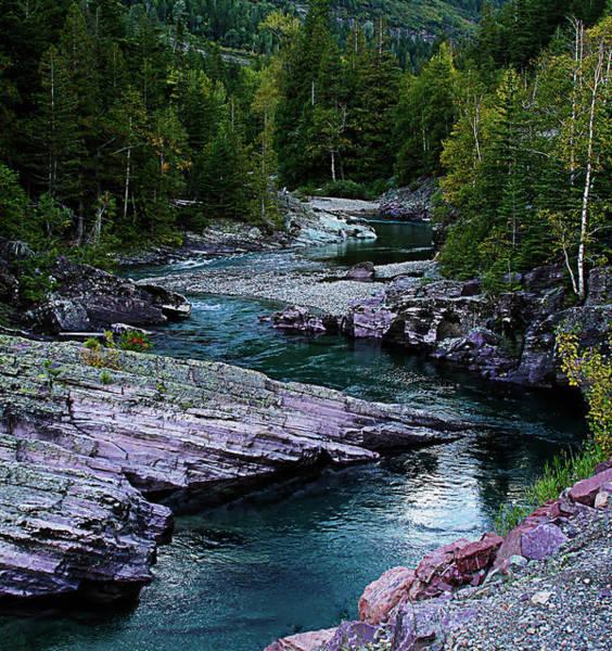 Photograph - Blue River by Joseph Noonan