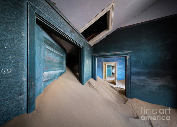 Wall Art - Photograph - Blue Room by Inge Johnsson