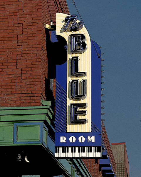 Photograph - Blue Room by Jim Mathis