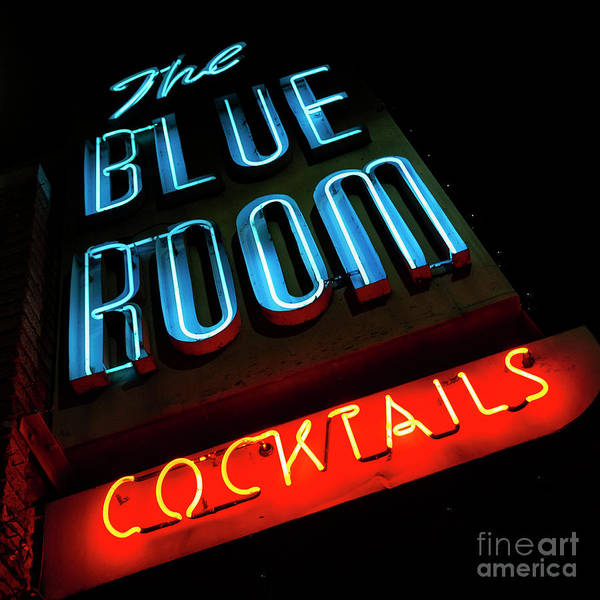 Wall Art - Photograph - Blue Room by Lenore Locken