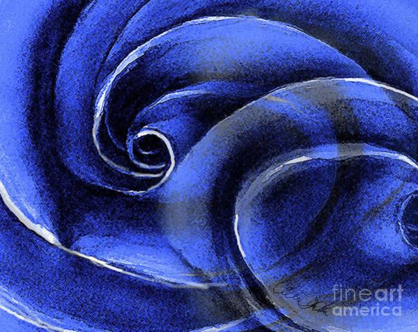 Painting - Blue Rose by Allison Ashton