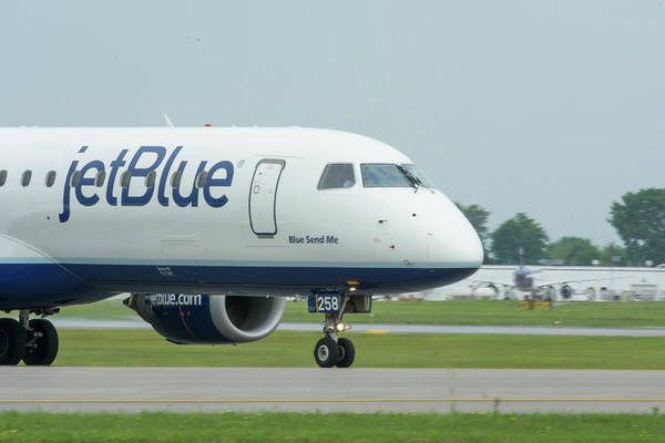 Jetblue Wall Art - Photograph - Blue Send Me by Guy Whiteley