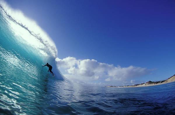 Wall Art - Photograph - Blue Shimmer by Sean Davey