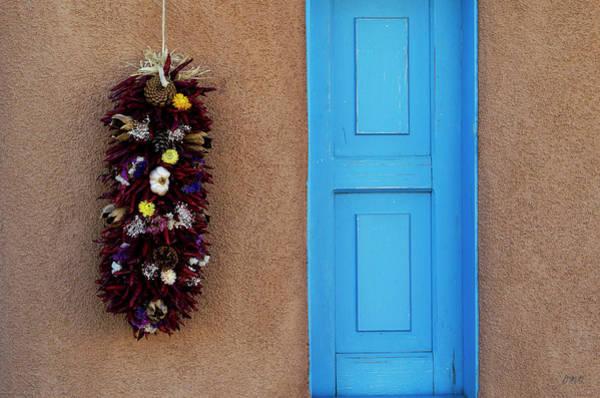 Photograph - Blue Shutter by Dave Gordon