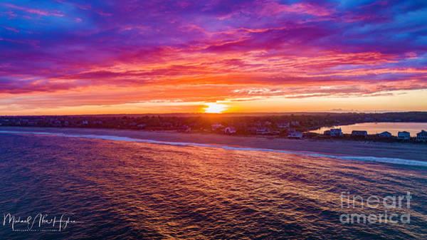 Photograph - Blue Shutter East Beach by Michael Hughes