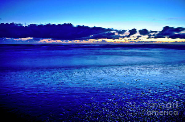 Photograph - Blue Silence Of The Sea by Silva Wischeropp