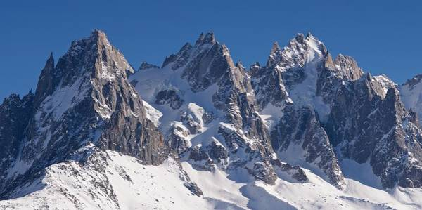 Photograph - Blue Skies Above Mont Blanc by Stephen Taylor