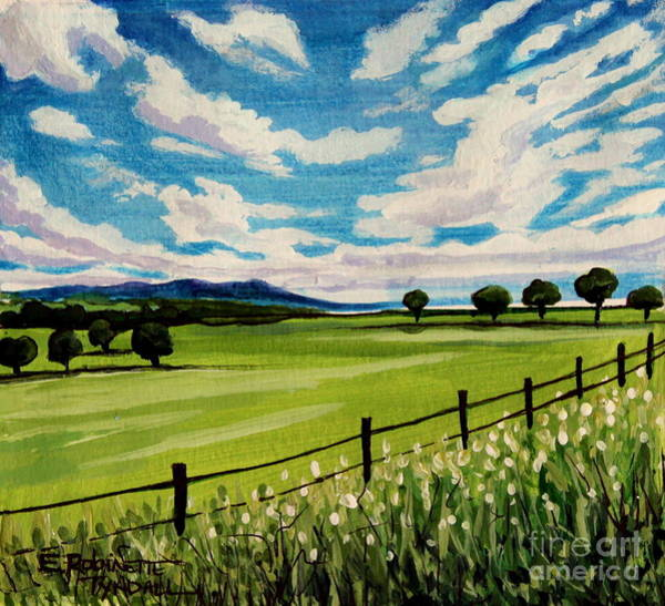 Painting - Blue Skies by Elizabeth Robinette Tyndall