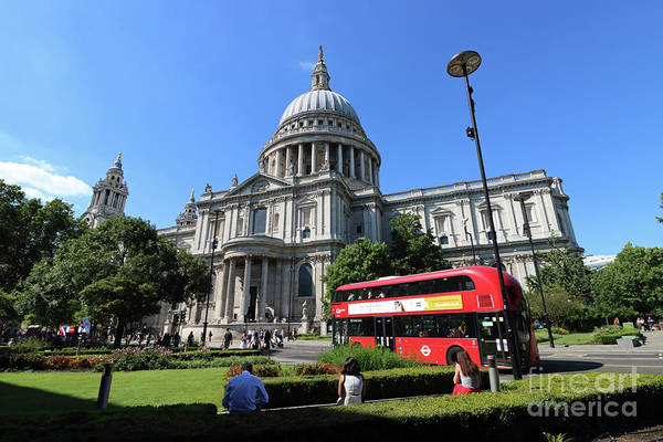 Photograph - Blue Skies In London by Julia Gavin