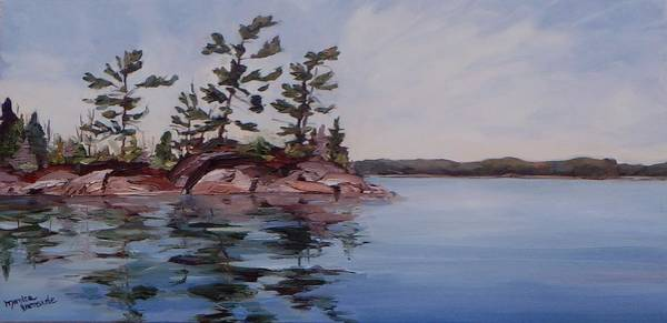 Painting - Blue Skies by Monica Ironside