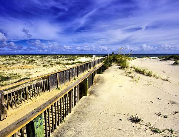 Photograph - Blue Skies Of Fort Morgan by JC Findley