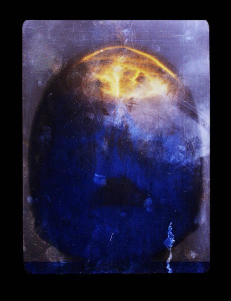 Digital Art - Blue Skull  by Doug Duffey
