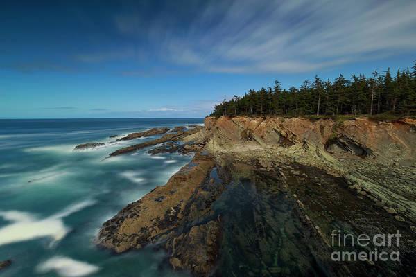 Wall Art - Photograph - Blue Sky And Blue Ocean by Masako Metz