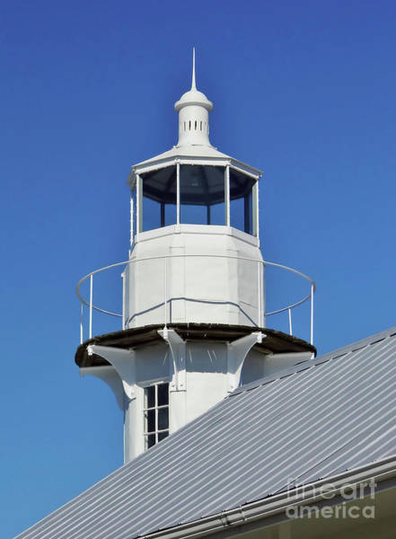 Photograph - Blue Sky At The Lighthouse by D Hackett