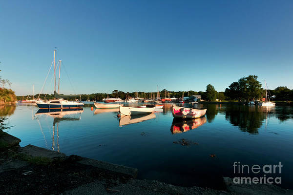 Photograph - Blue Sky Day At Mylor Bridge by Terri Waters