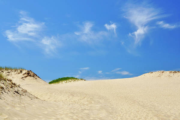 Photograph - Blue Sky Dunes by Luke Moore
