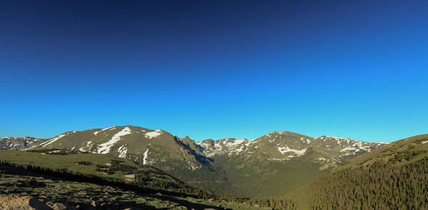 Photograph - Blue Skys Over The Rockies by Sean Allen