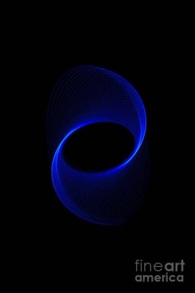 Photograph - Blue Spiral  by Brian Roscorla