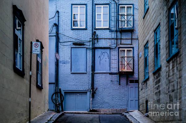 Photograph - Blue Street by M G Whittingham