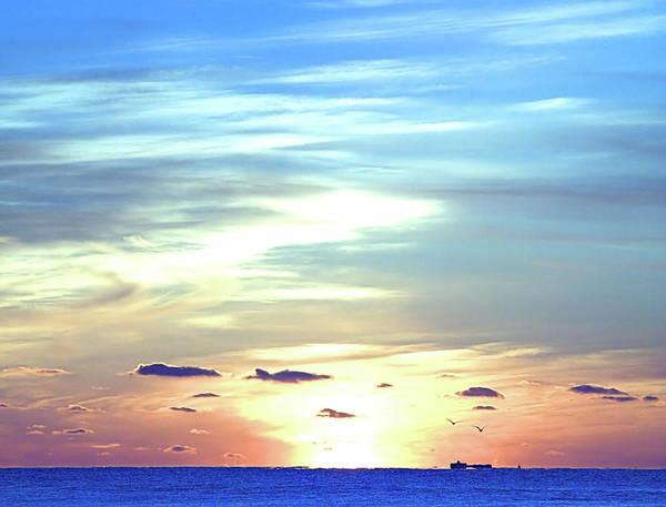 Photograph - Blue Sunrise by  Newwwman