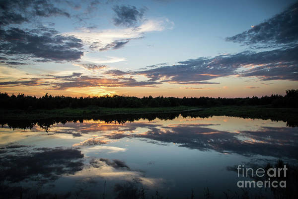 Photograph - Blue Sunset by Cheryl McClure