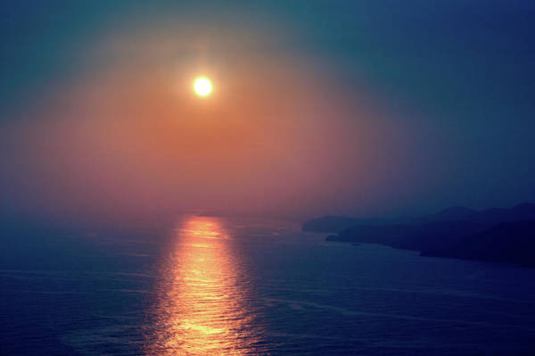 Photograph - Blue Sunset In Alanya by Sun Travels